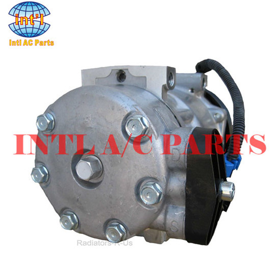 sanden sd7h15 for peterbilt kenworth tractors truck straight truck 3406 ac compressor 98569 f696002122 lf0121 20 04040 am in air conditioning installation