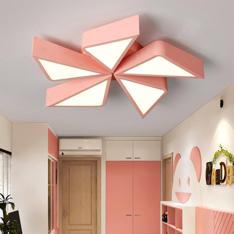 LED plafonniers pour enfants chambre éclairage enfants bébé chambre plafonnier avec gradation pour garçons filles chambre dôme lampe luminaire