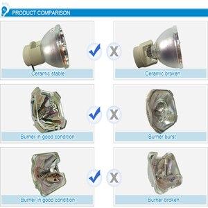 Image 5 - Için ELPLP67 V13H010L67 ücretsiz kargo Epson S12 EB X11 H432B EB X02 EB S02 eb s11 EB 250XC EB C250W projektörler ampul lamba