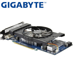 GIGABYTE Graphics Card Original GTX 550 Ti 1GB 192Bit GDDR5 Video Cards for nVIDIA Geforce GTX 550Ti HDMI DVI Used VGA Cards