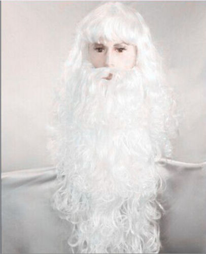 hot sell new - Hot heat resistant Kanekalon Party hair SHIPPINGCheap Long Santa Claus Beard & Wig Father Christmas Fancy Dress накладная люстра 2054 4 odeon light page 2