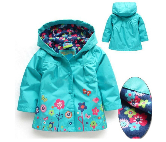 Retail Children Outerwear Coat Kids baby Jackets Coats for Girls Clothing Coat spring fashion costume free shipping