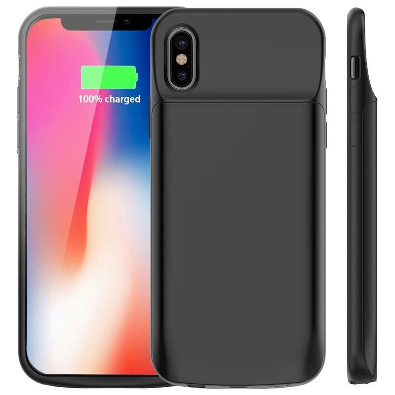 NENG Battery Charger Case For iPhone X Power Bank For iPhone X Battery Case 6000mAh Rechargeable External Battery Portable