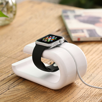 DOES U Shape Phone Holder Stand Charging Dock For Apple Watch Stable Phone Bracket Phone Holder