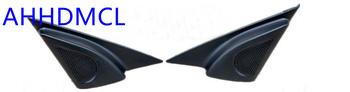 Szyny głośnikowe do montażu głośników samochodowych uchwyty gumowe drzwi kątowe dla Besturn B50 2009 2010 2011 2012 B50F 2013 2014 2015 tanie i dobre opinie Skrzynek głośnikowych Black AHHDMCL ABS+PC+Metal 0 26kg Car audio door angle gum tweeter refitting