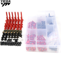 1 Sets Complete Universal Motorcycle Windshield Fairing Bolts For ducati monster 696 09 14 848 08 10 Scrambler 796 11 14 1098 S