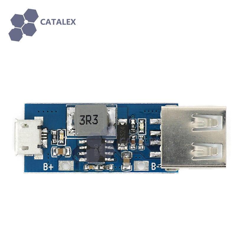 MicroUSB для USB 3.7 В литиевых Батарея Зарядное устройство доска зарядки/повышающий преобразователь/защита три в одном модуле