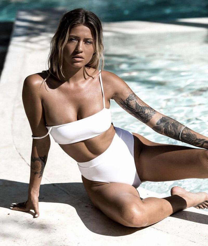 Micro Bikini Women Bandage Swimwear Swimsuit Bathing Suit Solid Bikini Push Up Beach Wear Maillot De Bain Brazilian Bikini