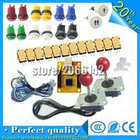 USB Encoder To PC Arcade Sanwa Joystick + Sanwa Push Buttons For Arcade Mame Arcade Joystick DIY Kit Zero Delay Arcade DIY Kit