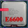 Пожизненная гарантия Core 2 Duo E6600 2.4 ГГц 4 м 1066 двухъядерный настольных процессоров процессорный сокет LGA 775 контакт. компьютер