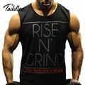 Mens Man Bodybuilding Men Tank Top Stringer Man Fitness Singlet Cotton Vest Clothes Golds Shirt Sleeveless GASP Muscle Hip Hop