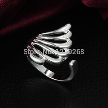 2015 new design silver ring finger fan opening Unique party accessories for women cheap prices