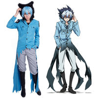 SERVAMP Sleepy Ash Cosplay Costume Jacket Pants Set complete outfit suit Uniform