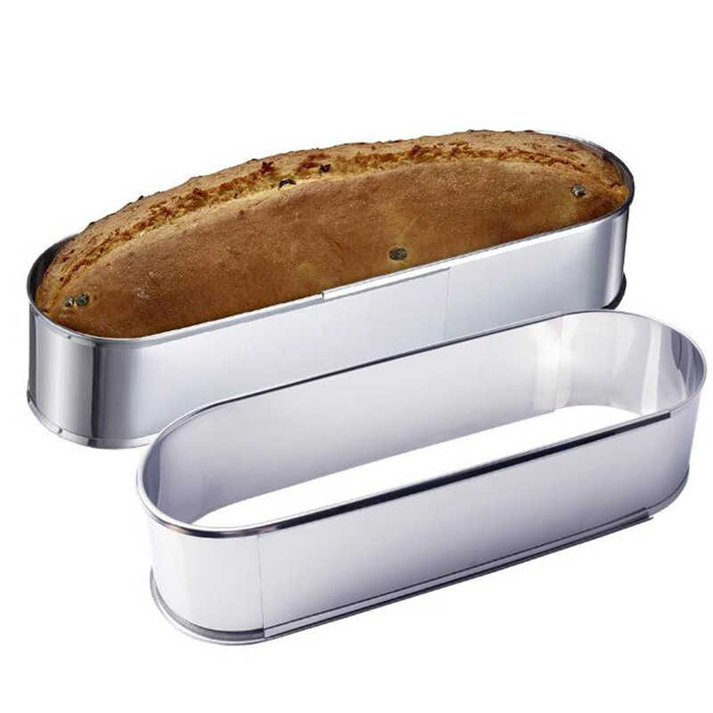 Stainless Steel Adjustable French Bread Loaf Pan Oval Cake Mousse Ring Baking Tool Bakeware Aliexpress