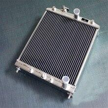 52 мм алюминиевый радиатор подходит для Honda CIVIC EK4/EK9, EG6/EG9, EM1/B16A/VTEC 1992-2000