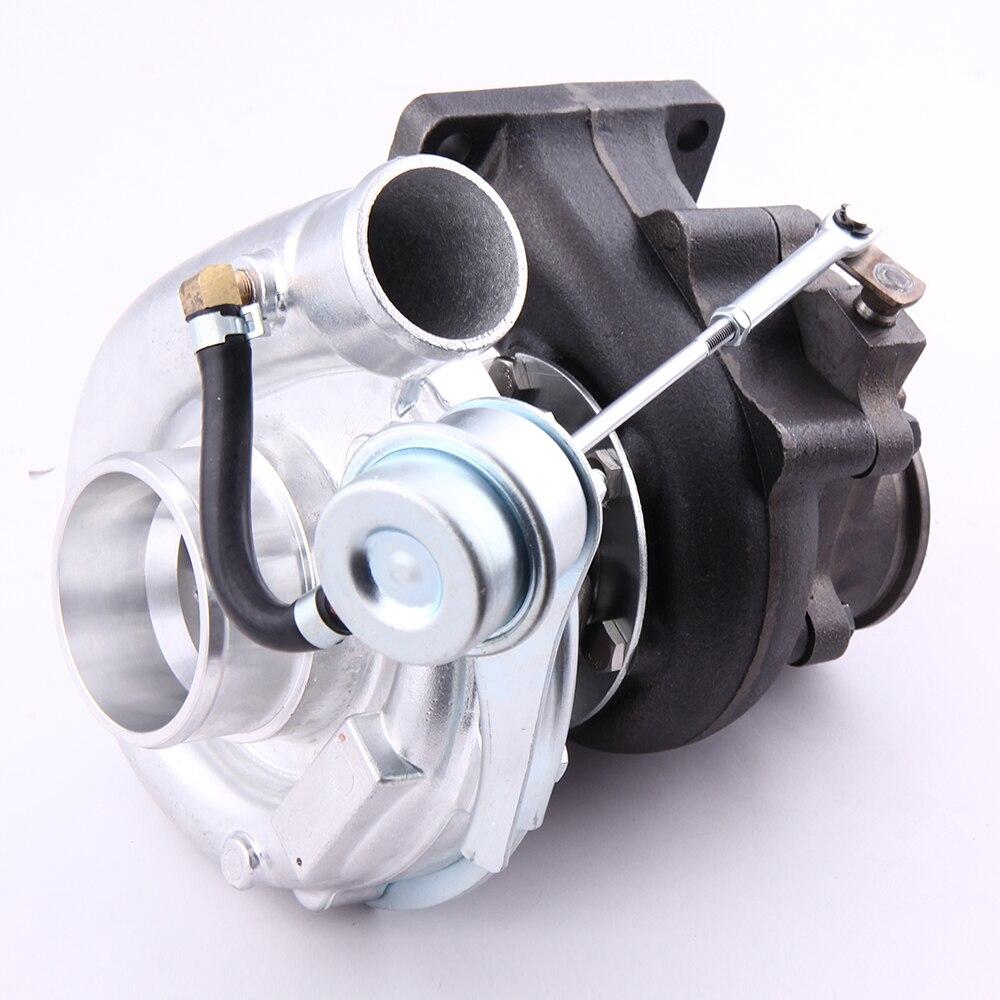 T3 T4 TO4E T04E A/R .50 Turbine A/R .63 V-band Oil Universal Turbo Turbocharger for Nissan Safari Patrol 4.2L TD42 TD42T1 GU GQ
