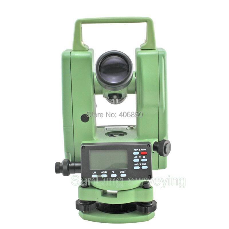 DE-2A, teodolite elettronico, Laser piombino