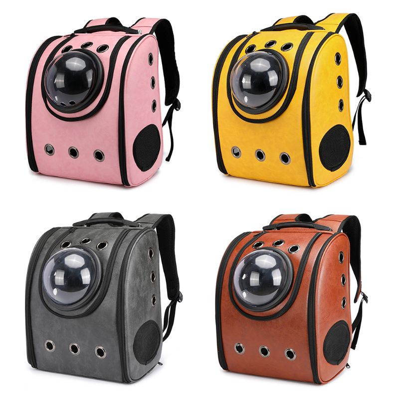 1Pc Astronaut Capsule Breathable Pet Cat Puppy Travel Bag Space Backpack Carrier Bags High Quality