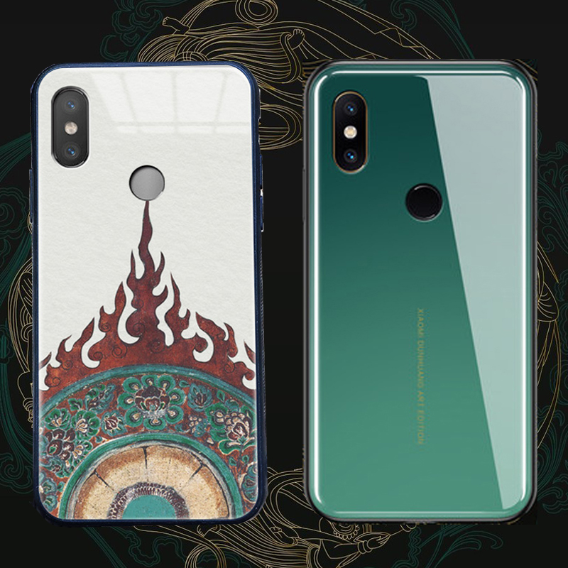 For Xiaomi mi 6 Max 3 Glass Case Mix2 Mix 2 Coque mi Play The Mogao Grottoes Tempered Glass Cover For Xiaomi mi Max Max2 Max3For Xiaomi mi 6 Max 3 Glass Case Mix2 Mix 2 Coque mi Play The Mogao Grottoes Tempered Glass Cover For Xiaomi mi Max Max2 Max3