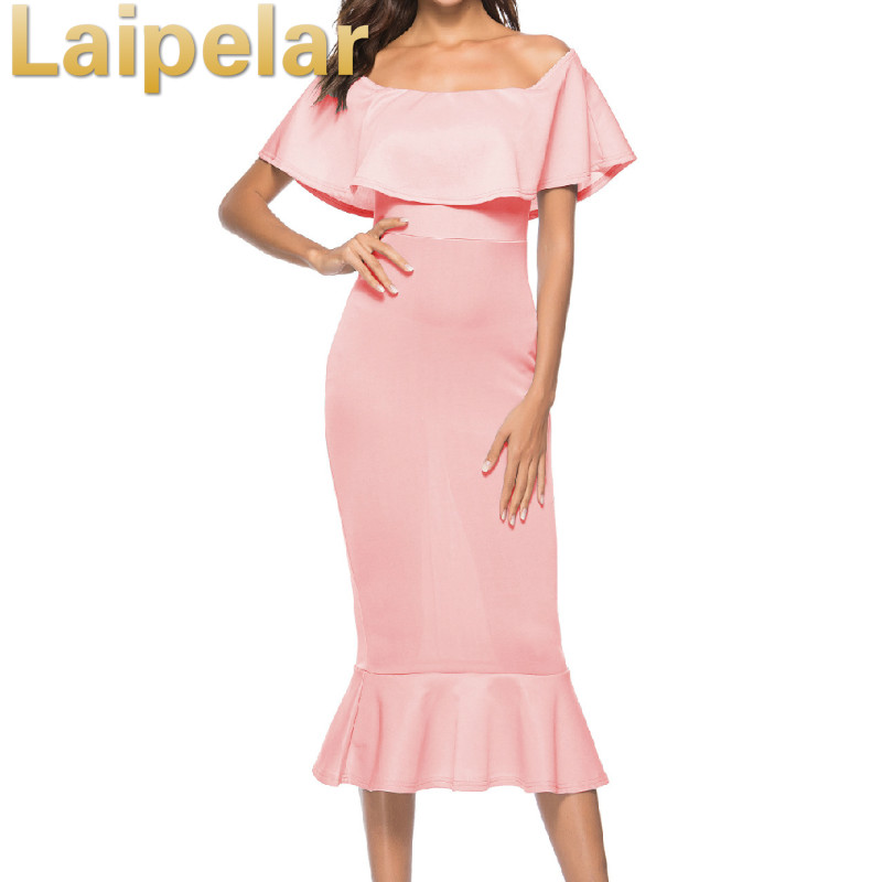 Laipelar <font><b>2018</b></font> <font><b>Sexy</b></font> <font><b>Off</b></font> <font><b>Shoulder</b></font> Summer Autumn <font><b>Party</b></font> Dress <font><b>Bodycon</b></font> Women Formal Dress <font><b>Elegant</b></font> <font><b>Club</b></font> <font><b>Party</b></font> Dresses image