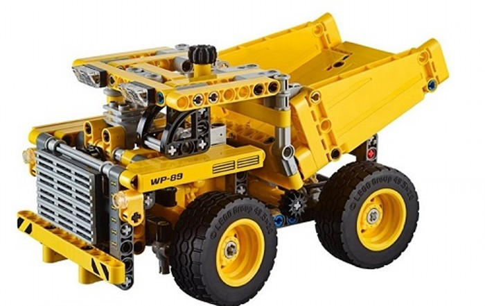 Mining Toys For Boys : Classic technology technics engineering vehicle in