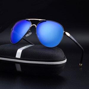 Image 2 - SAYLAYO HD spolaryzowane okulary mężczyźni w stylu Vintage nowy mężczyzna fajne okulary jazdy okulary odcienie UV400 dla kobiet