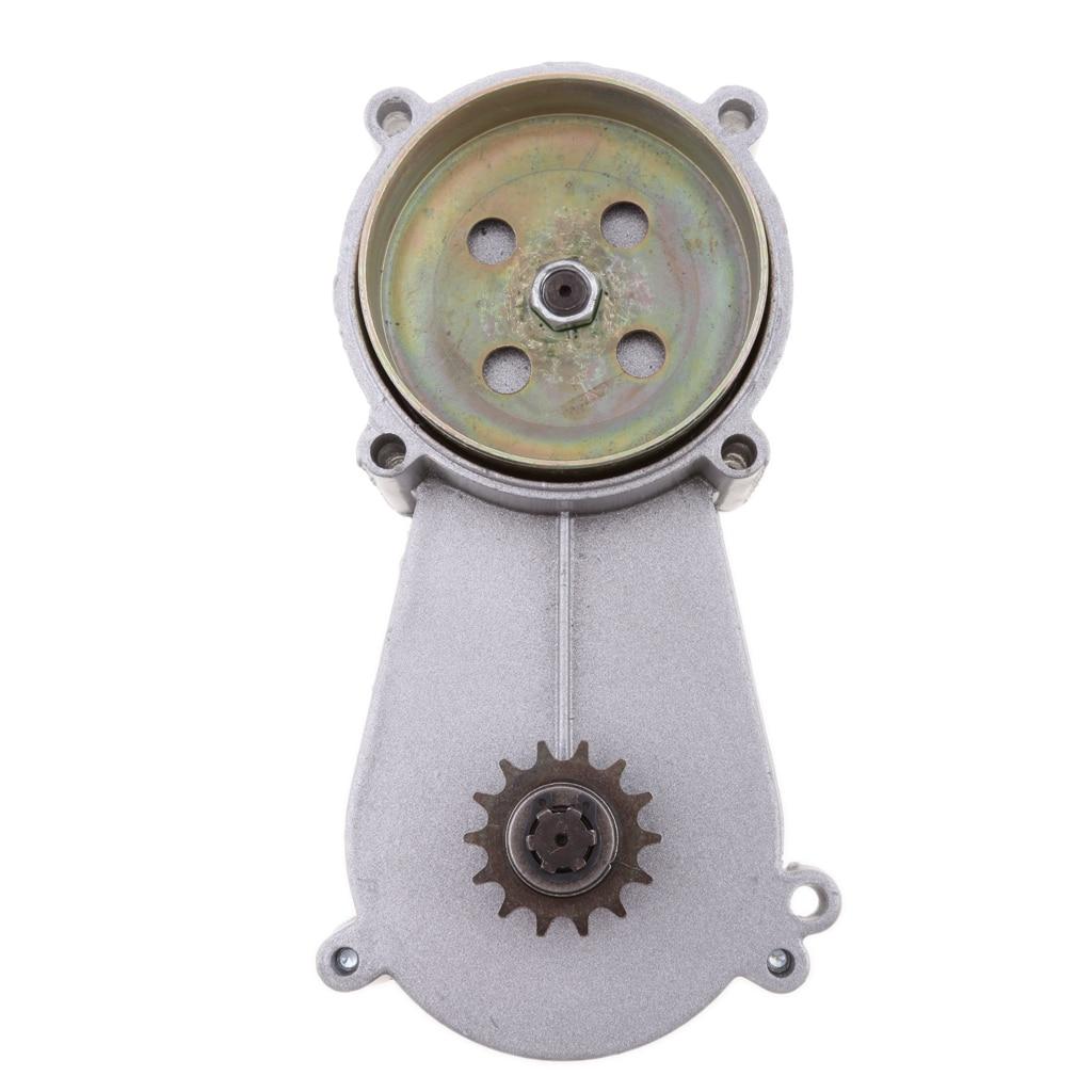 Transmission Gearbox Gear Box For 47CC 49CC 2-Stroke 4-Stroke Engine Clutch Mini Pocket Bike High Performance Aluminum Alloy