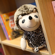1pc 25-50cm The Simulation Of Leopard Hedgehog Mouse Animal Doll Plush Toys For Christmas Gift High Quality Stuffed Animals
