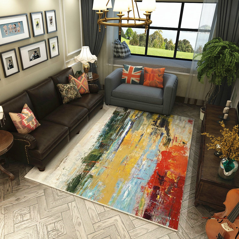 Abstract Art Carpets For Living Room