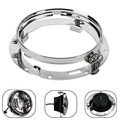 "7"" LED Headlight 2pcs Mounting Bracket Ring Extension Trim Ring Support for Harley Davidson 7 Inch Motorcycle headlamp"