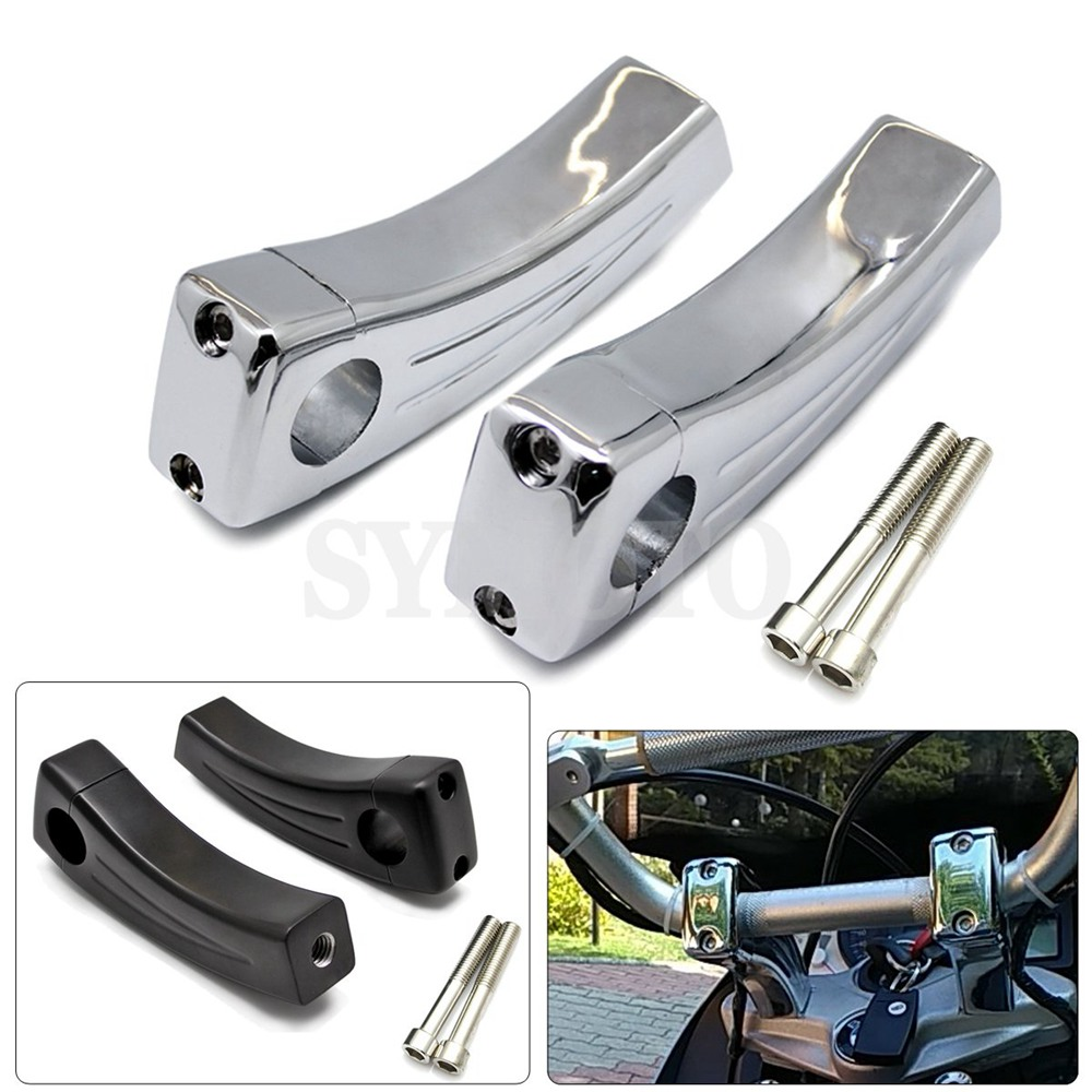 7/822MM Motorcycle Heightening Fixed seat Clamps Risers Handlebar Bar Risers Mount For Yamaha XV 125 250 400 Tmax 500 530 R1 7/822MM Motorcycle Heightening Fixed seat Clamps Risers Handlebar Bar Risers Mount For Yamaha XV 125 250 400 Tmax 500 530 R1