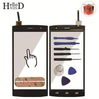 Smartphone Touch Screen Digitizer Panel Glass Front For HOMTOM HT7 HT7 Pro Lens Sensor Replacement Tools