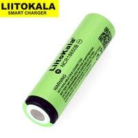 20PCS Liitokala New original 18650 3400mAh lithium battery NCR18650B 3.6V/3.7V battery for flashlights