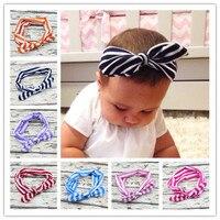 Top Knot Headbands kids Headwrap Stripled Knot kids Head Wrap Tie Knot Headwrap Girls Headwear