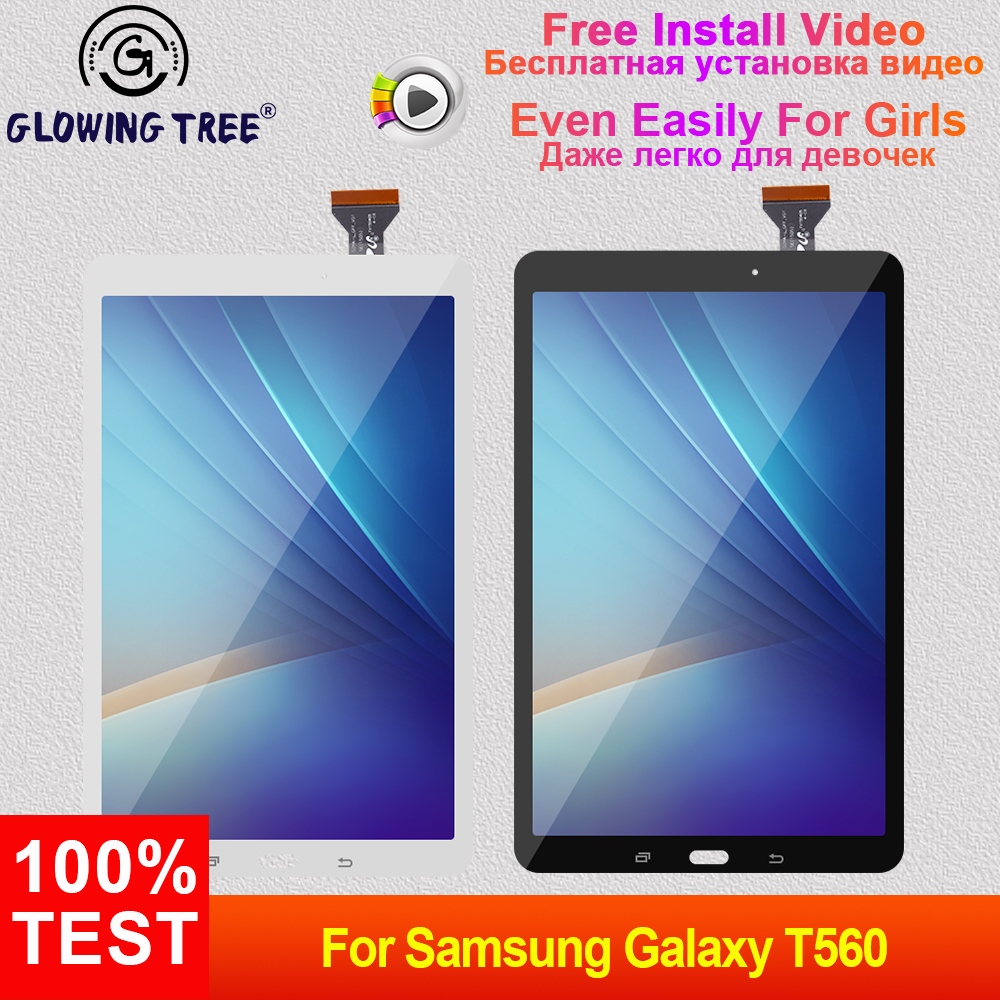 T561 lcd For Samsung Galaxy Tab E 9.6 T560 T561 SM-T560 SM-T561 Touch Screen Digitizer Sensor + LCD Display Monitor AssemblyT561 lcd For Samsung Galaxy Tab E 9.6 T560 T561 SM-T560 SM-T561 Touch Screen Digitizer Sensor + LCD Display Monitor Assembly