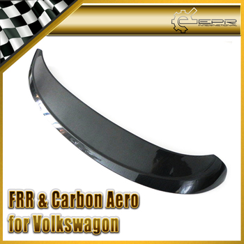 Discount Car-styling For VW VW Golf MK6 ABT Carbon Fiber Rear Spoiler In Stock