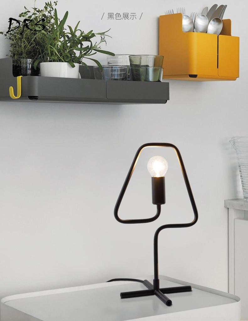 Lâmpada Lâmpada de Cabeceira Luz Estudo Moderno Luminárias