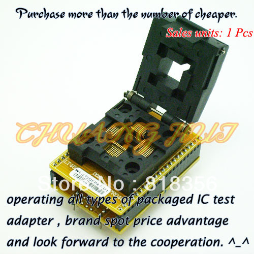 WL-(T)QFP44-U1 Adapter For Wellon Programmer Adapter TQFP44 Adapter IC Test Socket/IC Socket