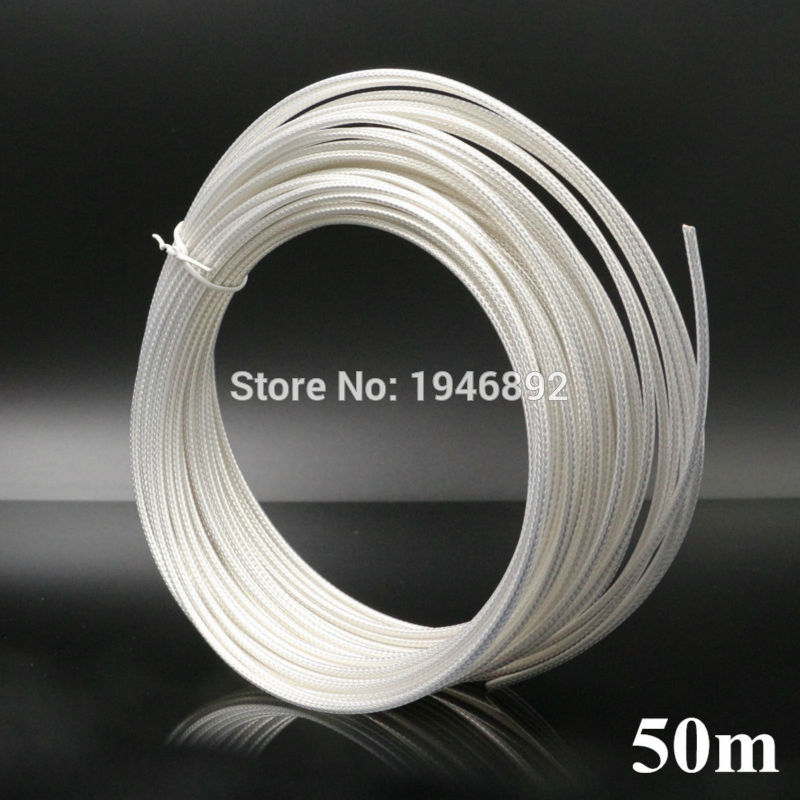 50 Meters 164ft RG316 White Coaxial Cable Wires RF 50 Ohm