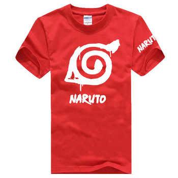 New Naruto T-shirt Uzumaki Naruto Uchiha Itachi Hatake Kakashi Anime T shirt Summer Cotton Short-sleeve Men women Tees tops
