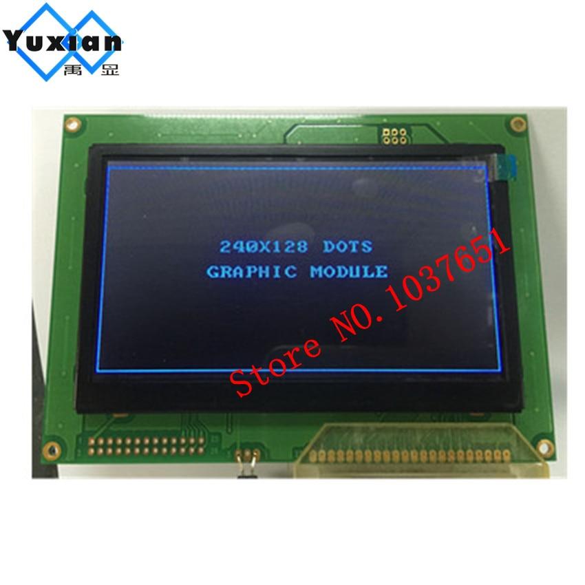 black 240128 240 128 5 1inch lcd display module panel 7 colors T6963C or RA6963C LT050A