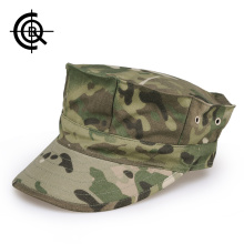 CQB Army Fans Outdoor Octagonal Cap Men Military Training Tactical Hats Fishing Hat Octagonal Cap Sunshade Cycling Cap MCM0055