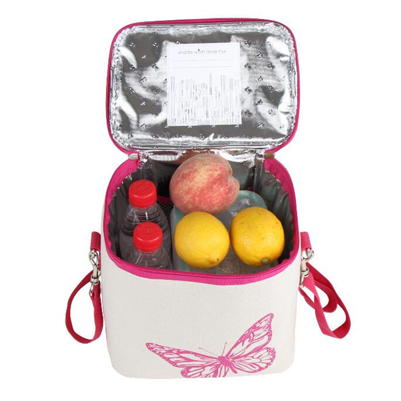 Hot Cotton Picnic Ice Bag Cooler Bags Lunch Thicken Folding Fresh Keeping Thermal Storage Bag Organizers
