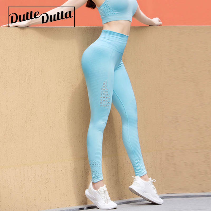 Yoga Sets Persevering Ombre Seamless 2 Piece Set Yoga Set Women Sport Suit Gym Workout Clothes Long Sleeve Fitness Crop Top And Scrunch Butt Leggings