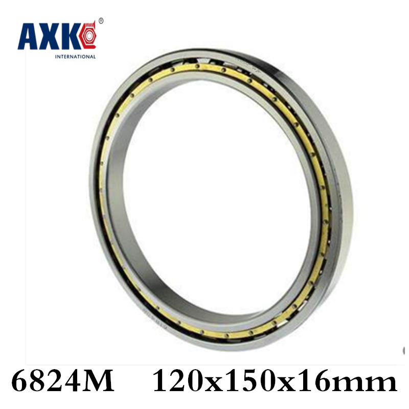 2018 Sale Time-limited Steel Rodamientos Rolamentos 6824m Abec-1 120x150x16mm Metric Thin Section Bearings Cage 61824m 2018 hot sale time limited steel rolamentos 6821 2rs abec 1 105x130x13mm metric thin section bearings 61821 rs 6821rs