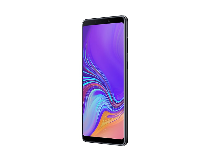 Samsung Galaxy GALAXY A9 6 + 128 noir 6 + 128, 16 cm (6.3 pouces), 2220x1080 pixels, 6 go, 128 go, 24 MP, noir