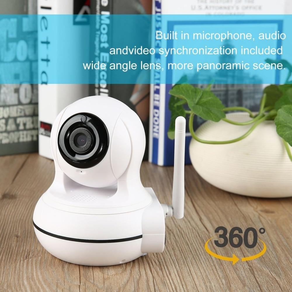 Wi-Fi IP Камера HD 720 P Беспроводной 1MP Умное видеонаблюдение безопасности Камера P2P сети Видеоняни и радионяни защиты дома панорамный Cam
