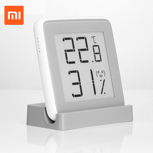 Image 1 - Xiaomi miaomiaoce eリンクインク画面デジタル水分計の液晶画面高精度温度計温度湿度センサー