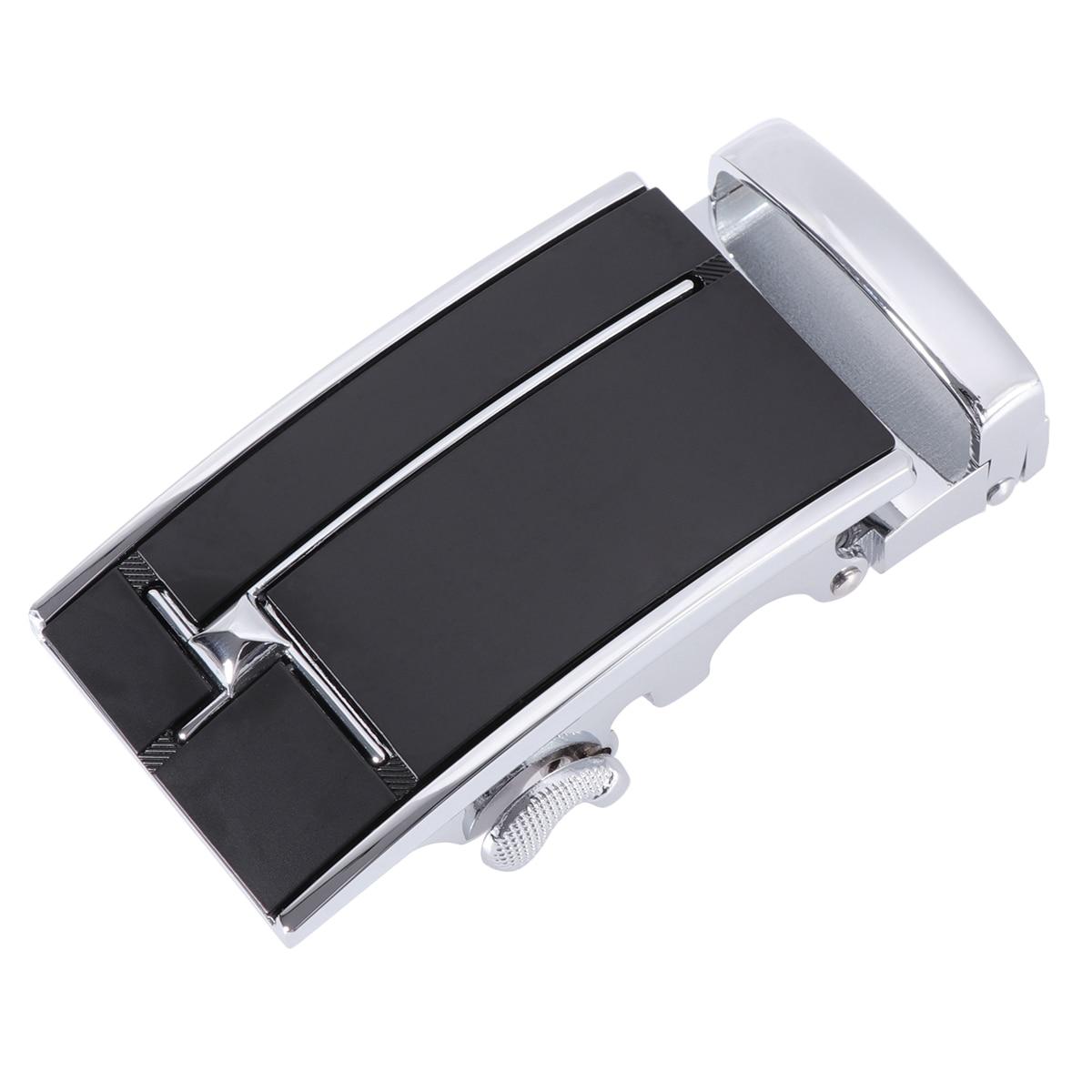 Fashion Men's Business Alloy Automatic Buckle Unique Men Plaque Belt Buckles For 3.5cm Ratchet Belt Men Apparel Accessories