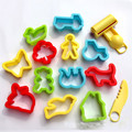 14pcs/set Soft Clay Tool Color Animal Tool Kit For Magnetic Clay Plasticine Mold Light Clay Set Fun Toys For Children Kids Gifts